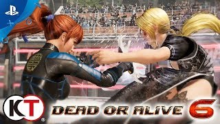 Dead or Alive 6 - E3 2018 Announcement Trailer | PS4