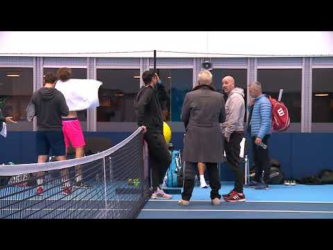 2019 Nitto ATP Finals: Live Stream Practice Court 1 (Sunday)