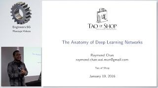 The Anatomy of Deep Learning Networks - PyData Singapore