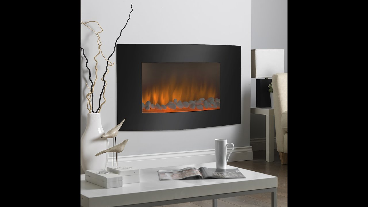 watch fireplace insert large best electric choice review youtube