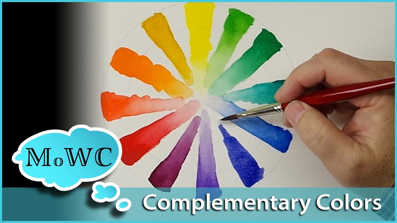 How To Use Complementary Colors In Watercolor Painting