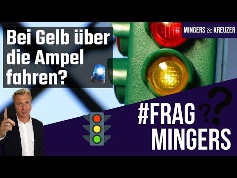 Bei Gelb über die Ampel | #FragMingers