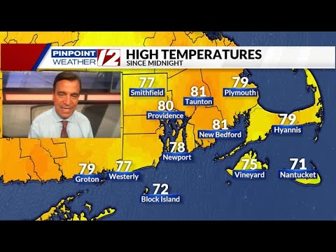WEATHER NOW: Warm And Dry Thursday