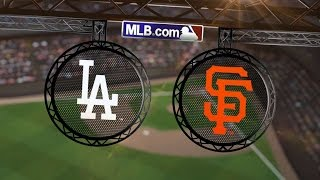 7/27/14: Dodgers pad West lead with sweep of Giants