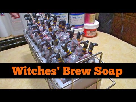 Witches Brew Style Cold Process Soap
