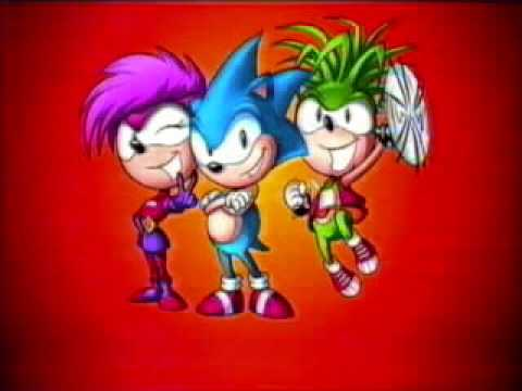 Sonic Underground Soundtrack Main Theme Youtube