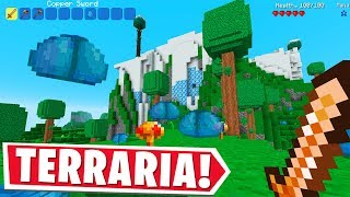 Minecraft BUT IT'S TERRARIA.. Or Terraria BUT IT'S MINECRAFT?