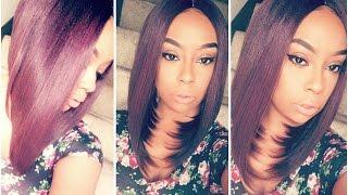 Zury Sis Pre-Tweezed Part A-Line Wig- Cassy | It's lit!