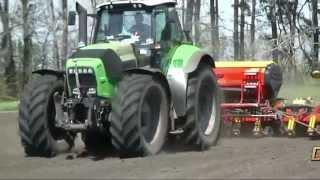 """DEUTZ-FAHR """"Agrotron X720"""" & Vaderstad.  Посевная.   ООО """"Ландтехник"""".  2012г. (HD)"""