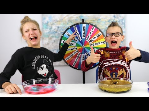 Mystery Wheel of Dump It Slime Challenge!