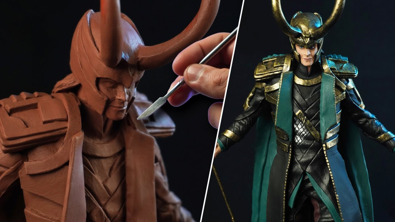 Sculpting LOKI | Marvel Studios Loki [ The Avengers ]