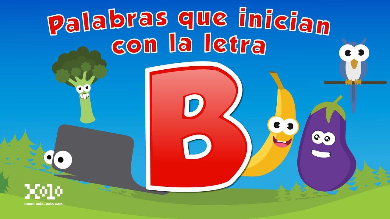 Palabras que inician con la letra b en espa ol para ni os for La b b
