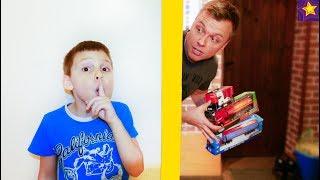 Потеряли Все Машинки для Розыгрыша! Игорюша и Папа играют в прятки в доме !!! Видео скетчи для детей