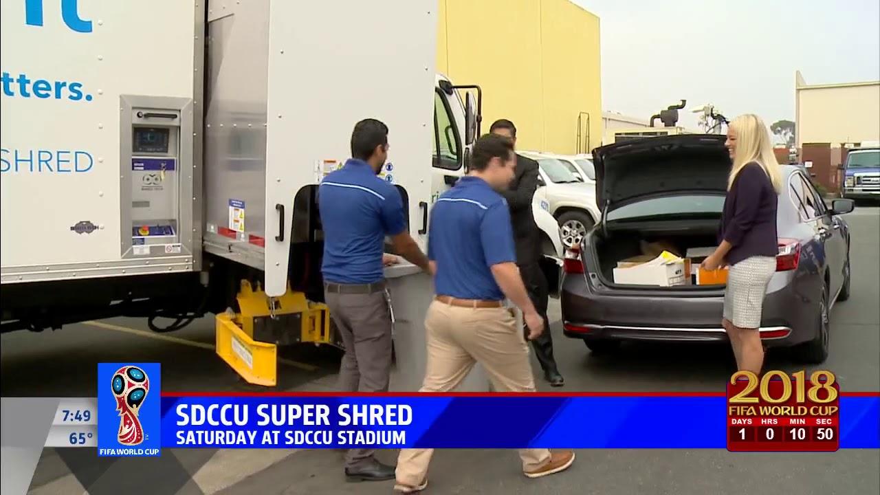 Sdccu Customer Service >> Fox5 Morning News Previews The 2018 Sdccu Super Shred Event Youtube