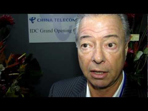 Michael Siteman, Jones Lang LaSalle at China Telecom Americas' Data Center Opening