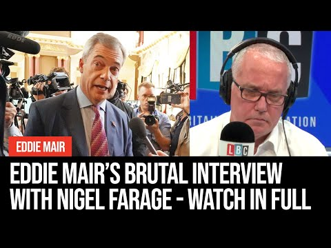 Eddie Mair's Brutal Interview With Nigel Farage - Watch In Full | Eddie Mair