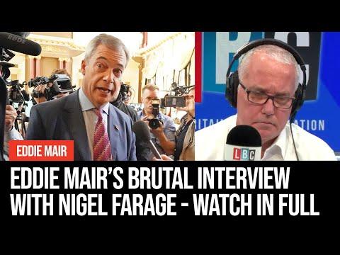 Eddie Mair's Brutal Interview With Nigel Farage - Watch In Full