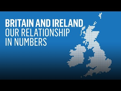 Ireland and the UK: our relationship in numbers