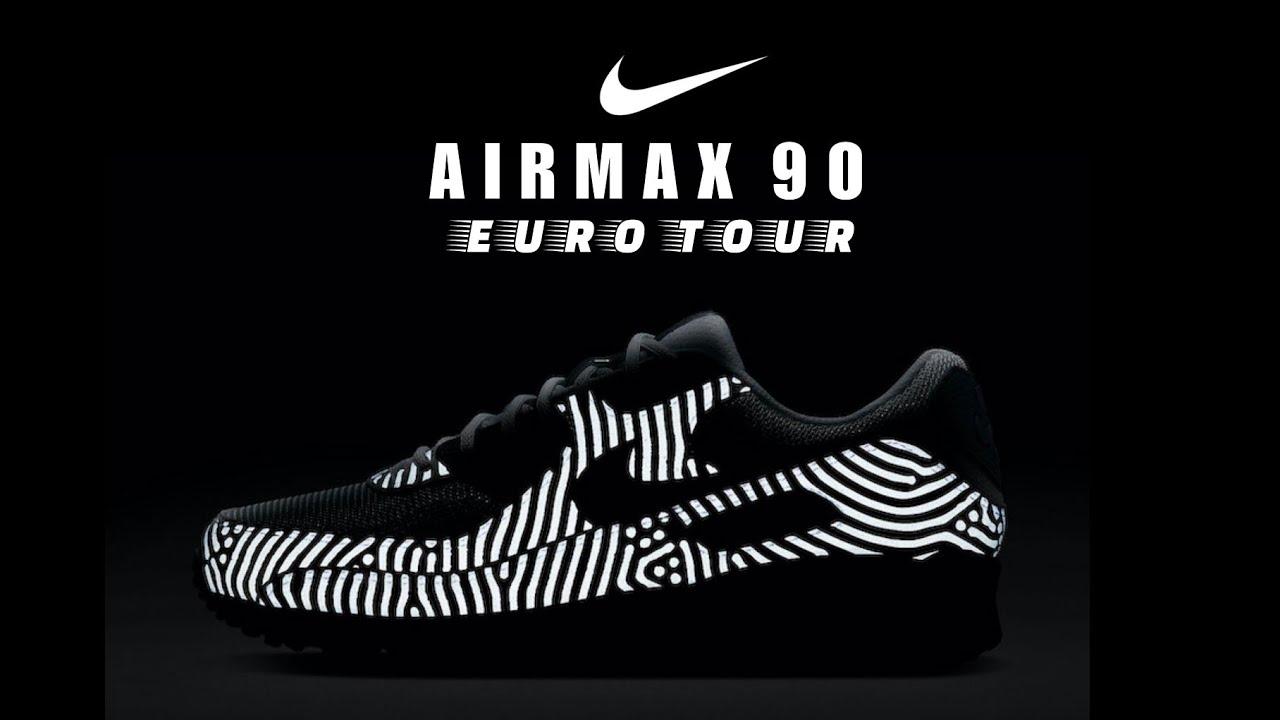 NIKE Air Max 90 Euro Tour 2020 DETAILED LOOK RELEASE INFO #Airmax