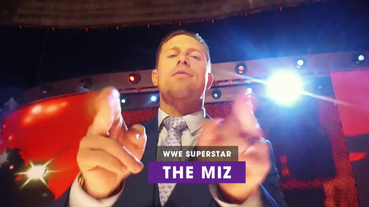 The Miz reveals how you can walk down the aisle at WrestleMania 34