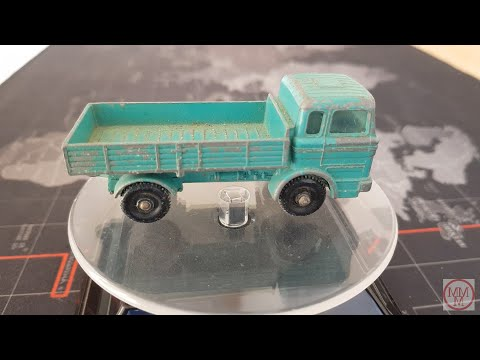 MATCHBOX Restoration No 1E Mercedes Truck 1968