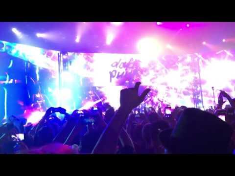 """Daft Punk"" As Special Guest for Zedd - 10/31/2015"