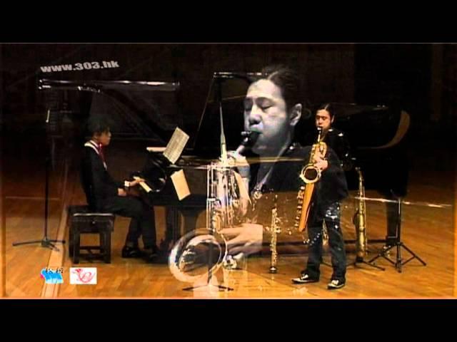 pink panther Chu Sze Magic Pluto/ Cedric saxophone+piano