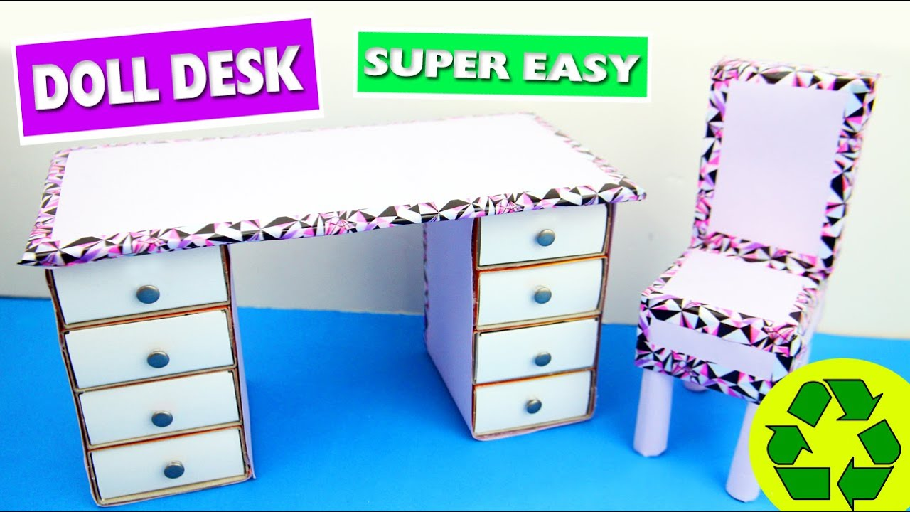 Back To School Crafts Mini Desk Organizer Youtube