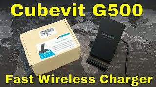 Cubevit G500 Fast Wireless Charger for the iPhone 8/8 Plus/X