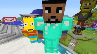 Minecraft Xbox - Springfield - Hunger Games