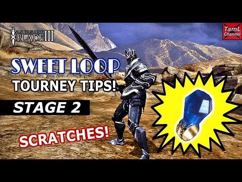 Infinity Blade 3: Sweet Loop Tourney Stage 2 Tips!