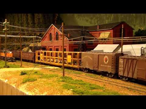 Milwaukee Road Memories HO Scale, East Portal Substation