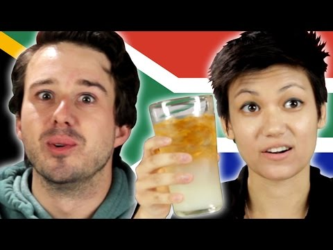 Americans Try South African Snacks