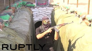 Video Palestine: Hamas military tunnel open to public for first time download MP3, 3GP, MP4, WEBM, AVI, FLV Juni 2018