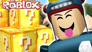 TheDiamondMinecart DanTDM Roblox - LUCKY BLOCKS IN ROBLOX!!