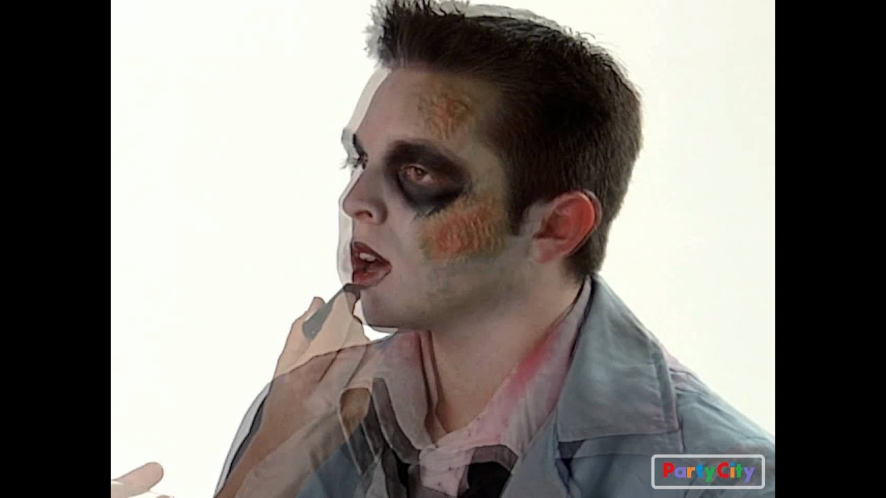 How to Apply Zombie Makeup for Halloween - YouTube
