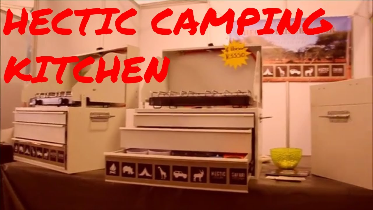 Outdoorküche Camping Uk : Hectic camping kitchen outdoor tech s e youtube