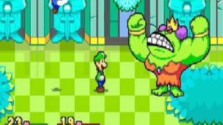 Mario & Luigi Superstar Saga Boss: Queen Bean (No damage)