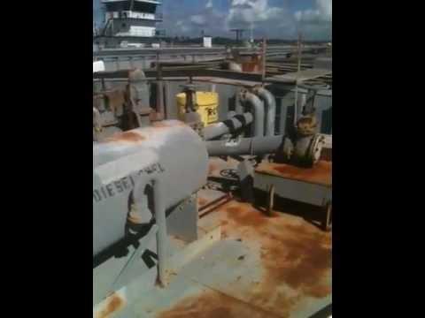 10,500 Barrel Capacity Tank Barge.MOV