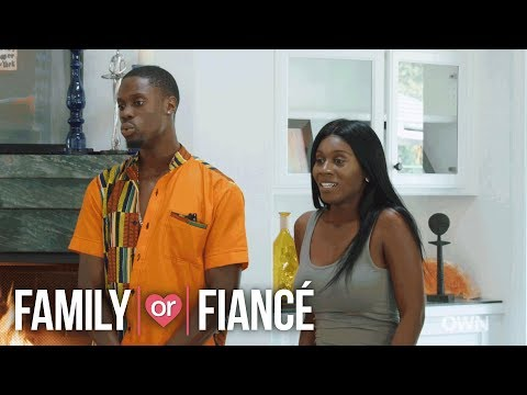 Chris and His Mom Get into an Heated Argument at the Family Meeting | Family or Fiancé | OWN