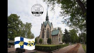 Einziges Mausoleum & tolle typisch finnische Parkanlage - Finnland Wohnmobil Rundreise #20