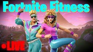 Winning On An Exercise Bike??? - Fortnite Fitness -  Family Friendly (Xbox One)