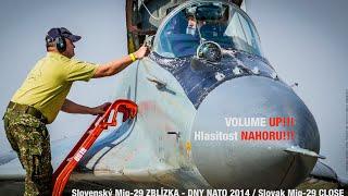 Slovenský MIG-29 ZBLÍZKA / MIG-29 CLOSE / 4K / FZ1000