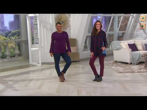Vionic Orthotic Leather Ankle Boots - Sawyer On QVC