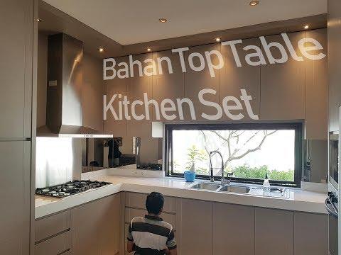 Bahan-Bahan Top Table Kitchen Set - 3 BAHAN TERBAIK