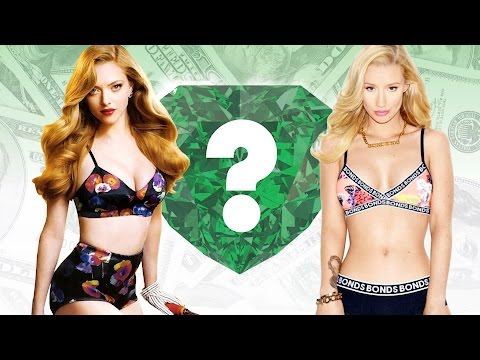 WHO'S RICHER? - Amanda Seyfried or Iggy...
