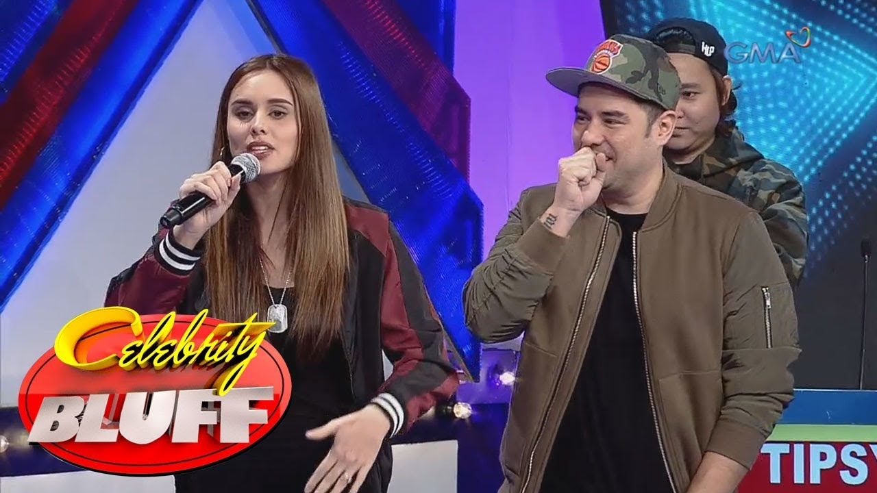 'Celebrity Bluff' Outtakes: Max Collins, magpapakitang-gilas sa rap battle