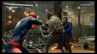 Spider-Man vs Hammerhead Front (Hell's Kitchen) - Flawless combat Ultimate difficulty