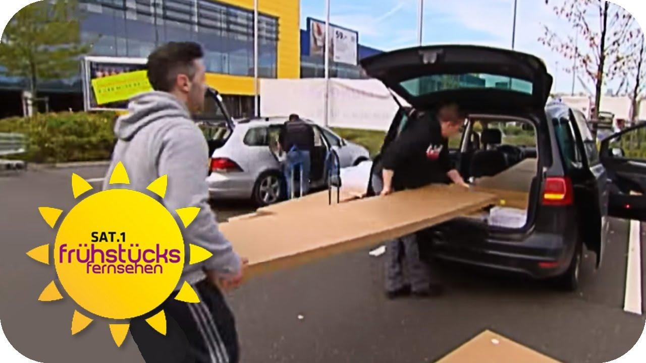 so bekommt man ikea-mÖbel ins auto | sat.1 frühstücksfernsehen | tv