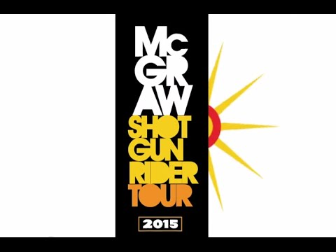 Shotgun Rider Tour 2015 Cities | Tim McGraw